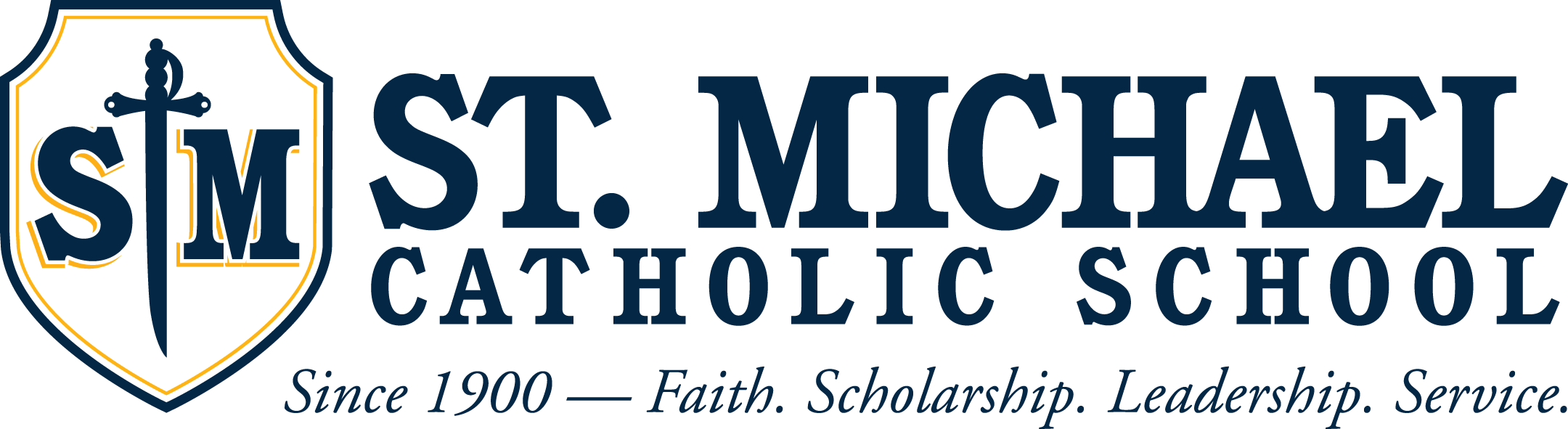 Footer Logo for St. Michael School